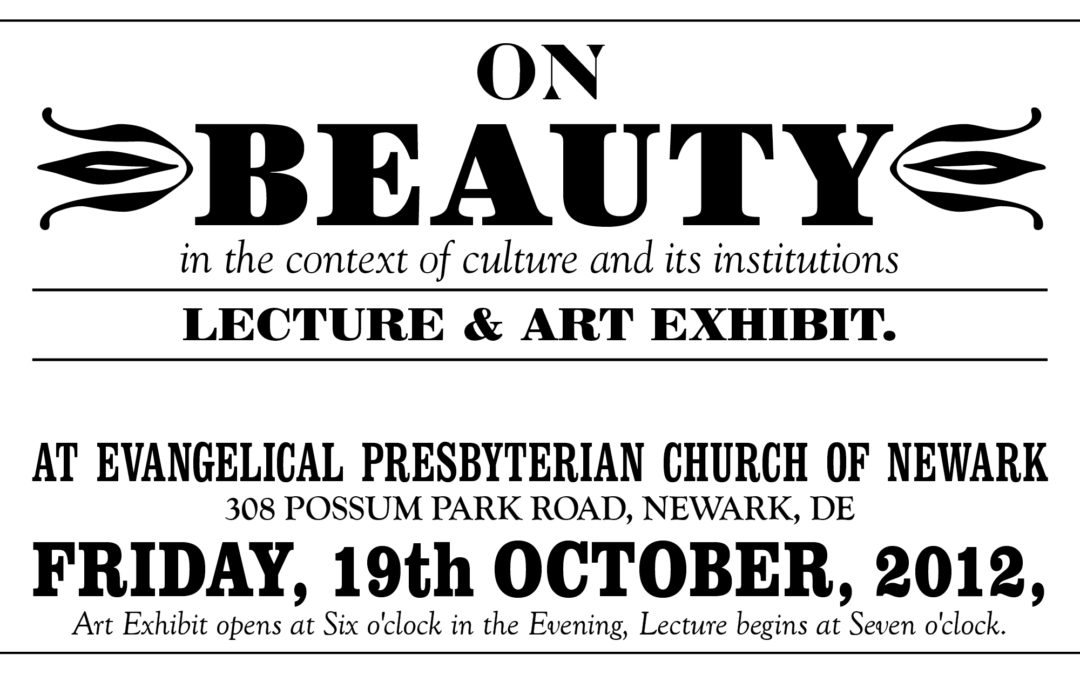 On Beauty Lecture | at EPC