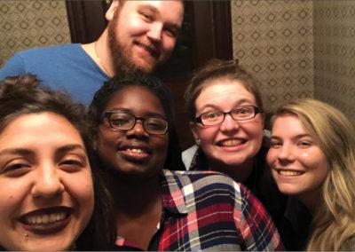 Dennissa's Visit | selfie #2
